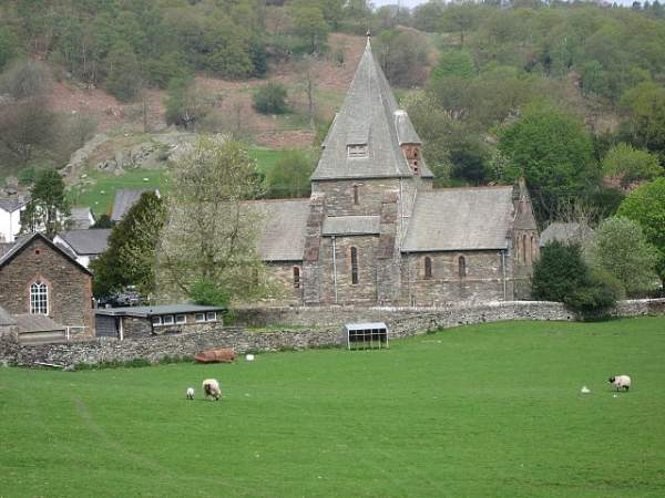 Finsthwaite - St Peter's Church.