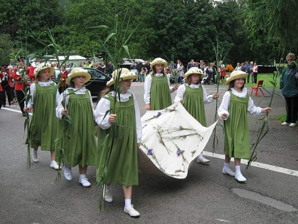 Grasmere - The Rushbearing Ceremony.