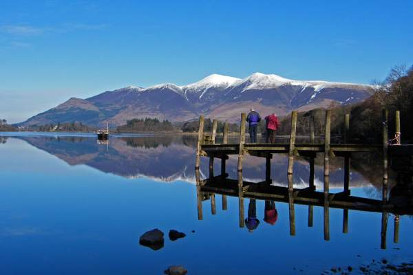 image of derwentwater and skiddaw