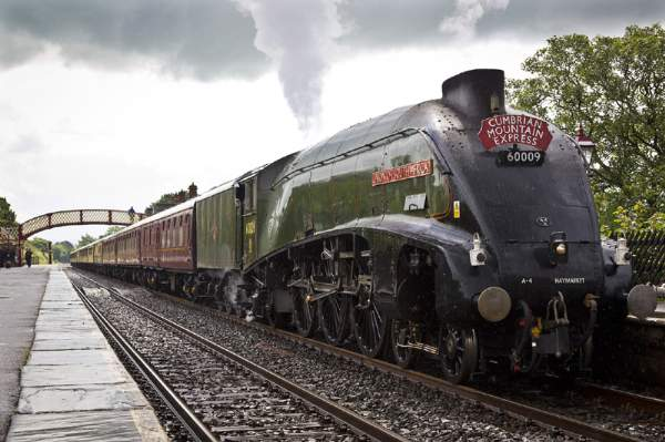 Union of South Africa at Appleby Station, Summer 2012.