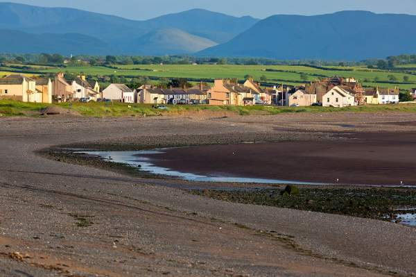 image of Allonby beach in Cumbria