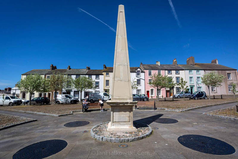 image of Fleming Square in Maryport, Cumbria