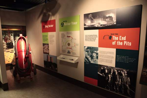 image of an exhibition in The Beacon Museum, Whitehaven