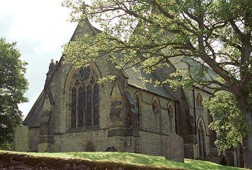 Alston - St Augustine's Church. Pic F95P21.