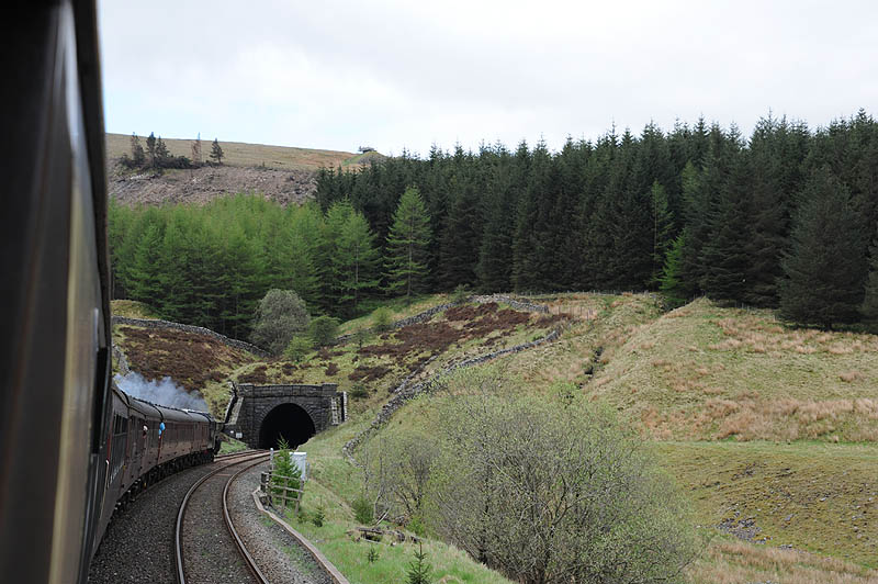 Blea Moor tunnel from the Dent side (north)
