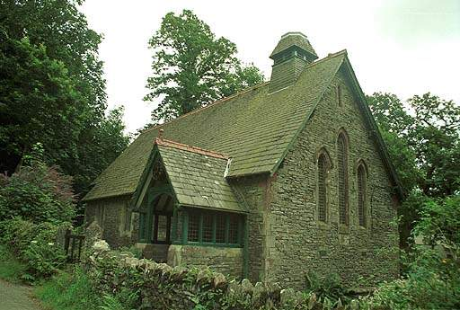 Holy Innocents Church - Broughton Mills. Pic F85P4.