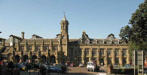 The Railway Station - Carlisle.