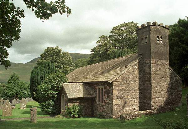St John's in the Vale Church, Castlerigg. Pic F41P12.