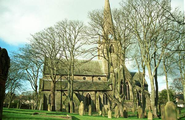 All Saints Church. Pic F124BP8.