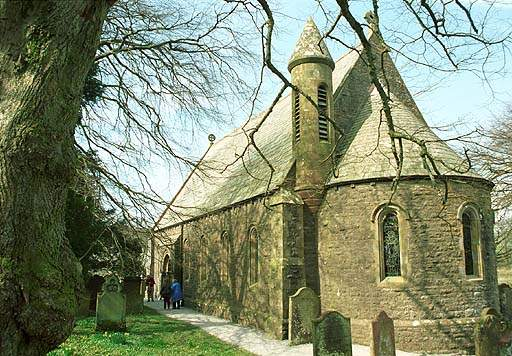 Ennerdale - St Mary's Church. Pic F108P1.