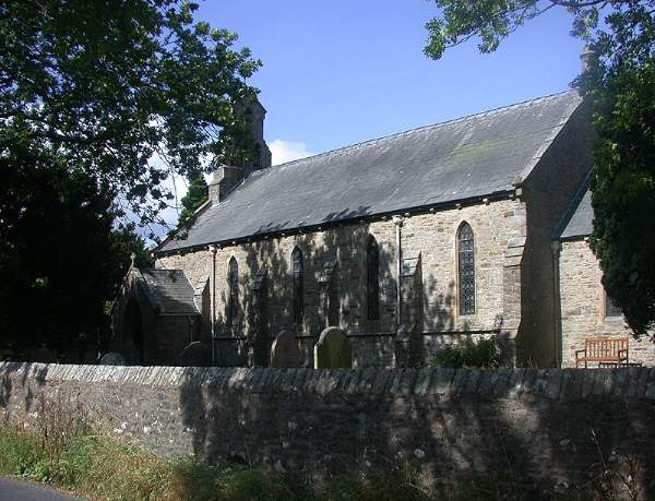Garsdale - St John's Church. Pic N4663