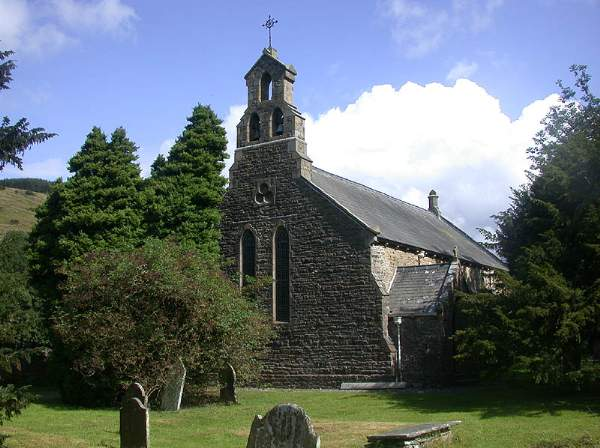 Garsdale - St John's Church. Pic N4664