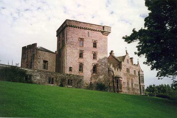 image of Greystoke Castle in Cumbria