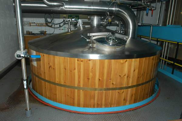 image of a mash tun at Jennings Brewery in Cumbria