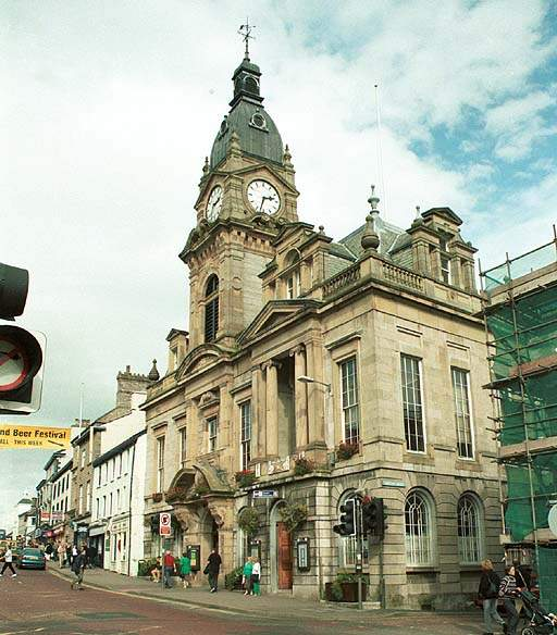 Kendal Town hall.