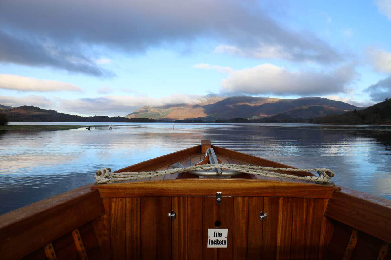 image of a boat trip on derwentwater