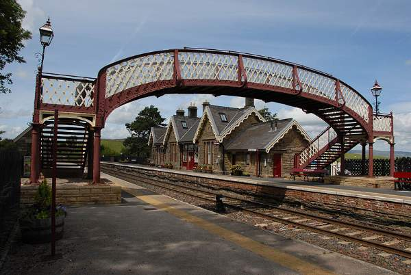Kirkby Stephen Station. .