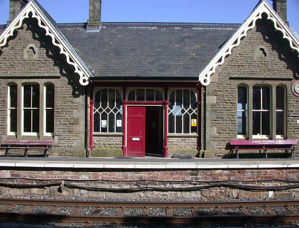 Kirkby Stephen Station.