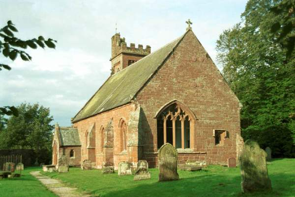 Melmerby - St John the Baptist's Church. Pic F60P11.