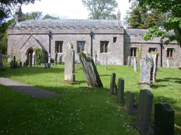 Muncaster - St Michael's Church. Pic N3729.