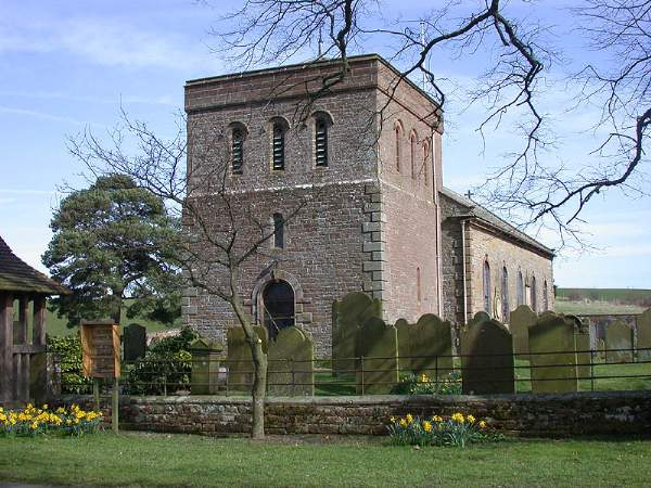 Raughton Head - All Saints' Church. Pic N0360
