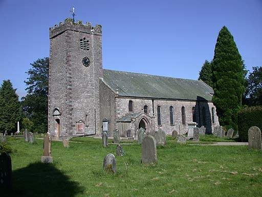 Ravenstonedale - St Oswald's Church. Pic N2373.