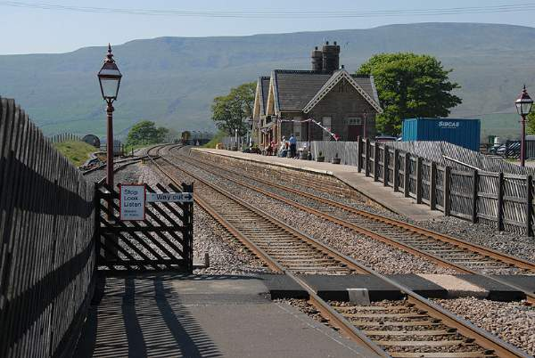 Ribblehead Station.