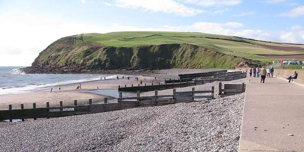 image of St Bees Head in Cumbria