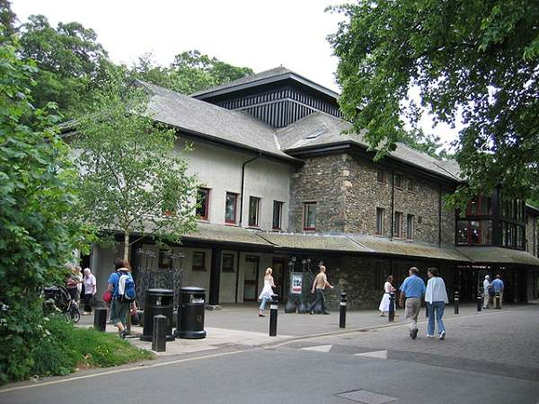 image of the exterior of the Theatre by the Lake in Keswick