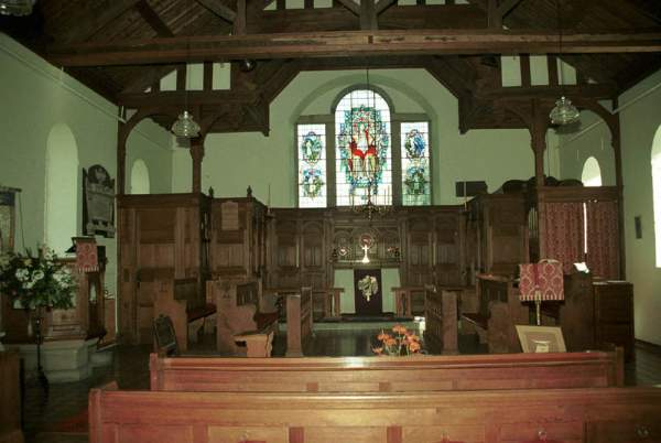 St Mary's Church, Threlkeld, Keswick. Pic F125P22.