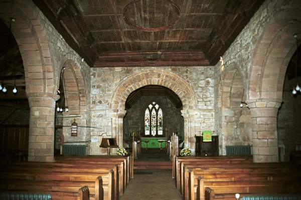 St Michael's Church, Torpenhow. Pic F124C p0a