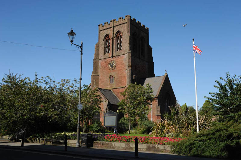 image of St Nicholas Church in Whitehaven