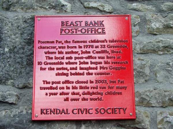 Kendal - Beast Banks Post Office