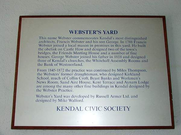Kendal - Websters Yard