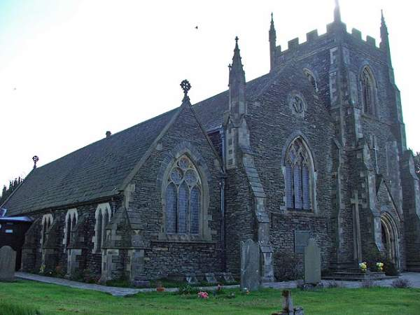 Burneside - St Oswald's Church.