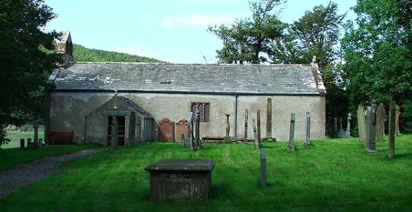 Waberthwaite - St John's Church.
