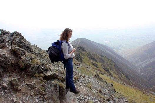 Nicola Didsbury on Blencathra