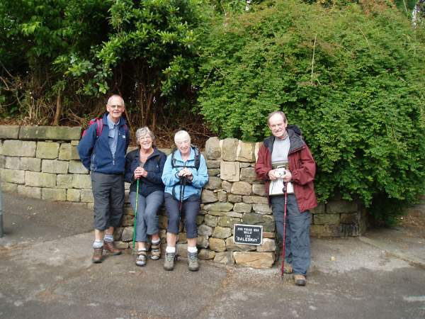 The Dales Way starting at Ilkley