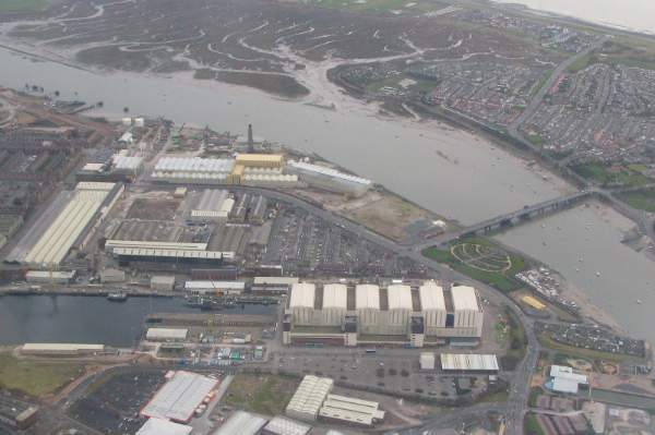 The Devonshire Dock Hall - where submarines are built
