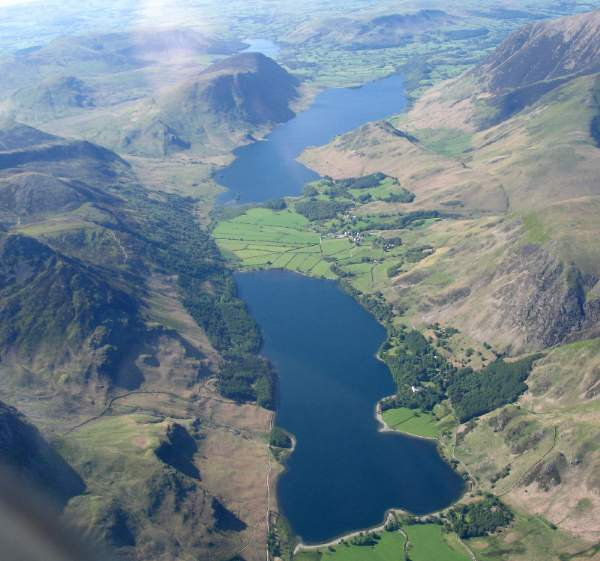 Lake District UNESCO World Heritage Status Honour, Buttermere, Crummock Water, and Loweswater