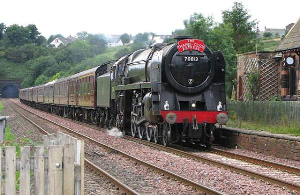 70013 Oliver Cromwell - Culgaith.