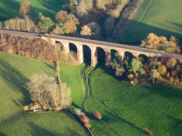 Dry Beck Viaduct.