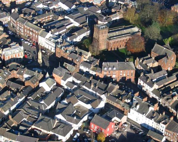 image of the Penrith town centre