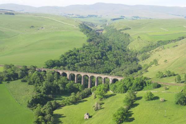 Smardale Viaduct.