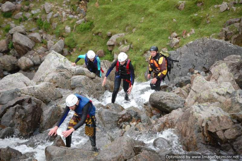 Ghyll Scrambling In The Lake District Visit Cumbria