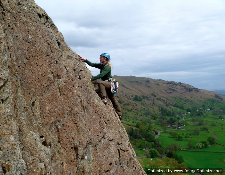 Mountain Scrambling In The Lake District