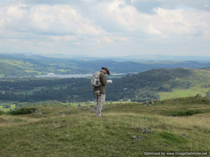 Navigation courses with The Lake District Walker