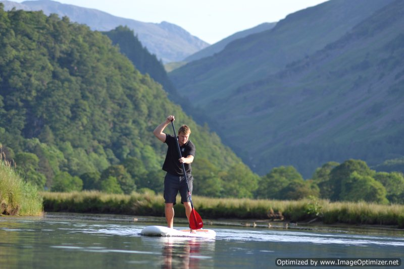 Paddle Boarding In The Lake District Cumbria Outdoor