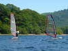 Windsurfing with Derwent Water Marina