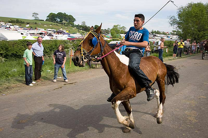 Appleby Fair. Photo by Andy Hibbert.
